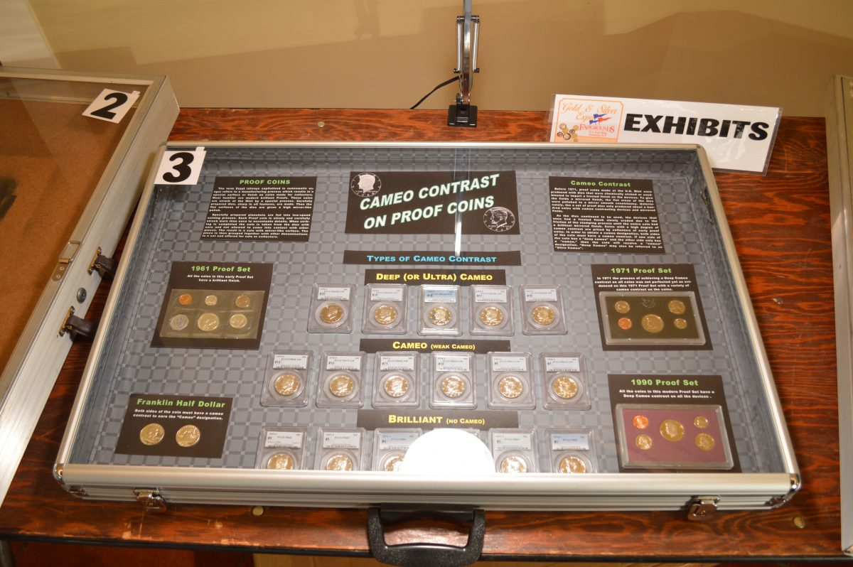 Example Coin Collection Exhibit