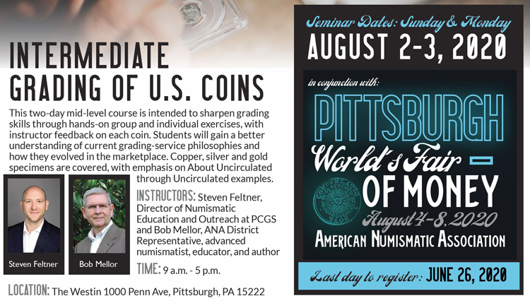 ANA Intermediate Grading of U.S. Coins Seminar